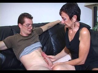 Family Big Cock Handjob