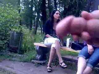 Rus Public FLASH Watching CUM GIRLS 78 - NV