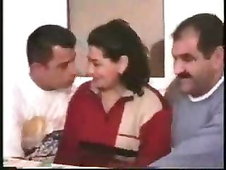 Turkish Cuckold Threesome