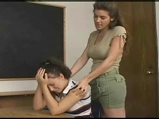 Teacher punishes student for bad grades