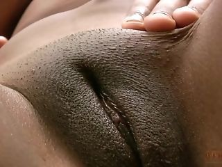 Close up Ebony MILF