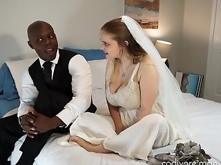 Interracial Bride Big Tits