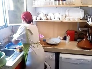 Amateur HiddenCam Kitchen