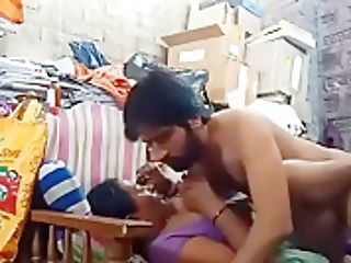 Indian Stepmom Son-in-law Fucking In Sofa