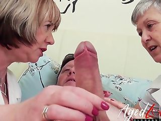 Mature Doctor Handjob