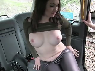 Big Tits Honey Yasmin Scott Amazing Doggystyle In The Backseat