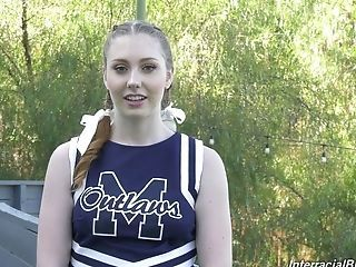 Ardent And Lovely Sporty Cheerleader Arietta Adams In Perverse Interview Xxx Vid