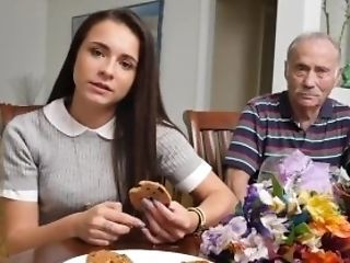 Amazing Old And Young Teen