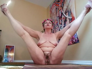 Mature Flexible Homemade