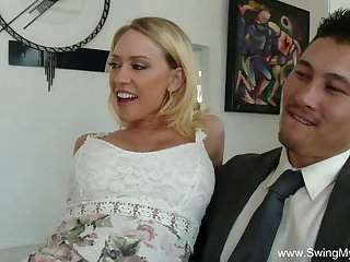Swingers Bride Groupsex