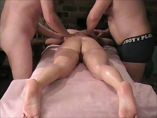 Swingers Massage Threesome