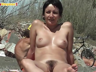 Amateur Beach Hairy