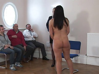 Spanking Amateur Maid