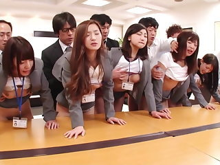 Office Orgy Teen