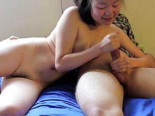 Handjob Korean Asian