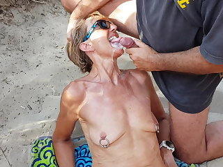Bukkake Cumshot Facial Outdoor Piercing Saggytits Wife